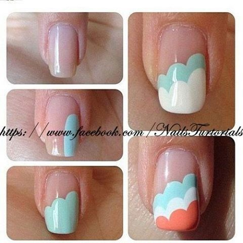 How To Paint Simple Cute Nail Art Manicure Step By Step Diy Tutorial