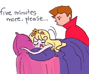 princess, sleep, and funny image