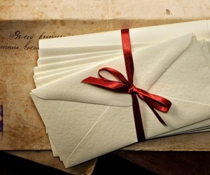 mail, white, and message image