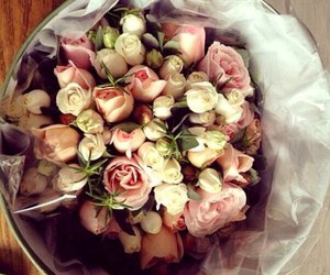 chanel, flowers, and like image