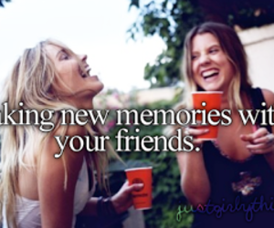 friends, memories, and text image