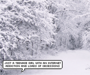 header, snow, and trees image