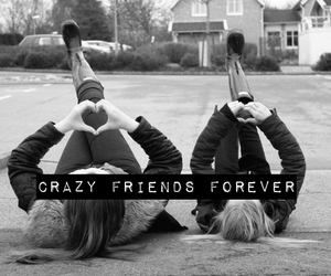 bff, crazy, and like image