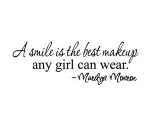 quotes, smile, and makeup image