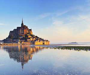 tangled, mont st michel, and tangled castle image