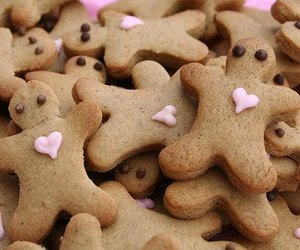 Cookies, heart, and food image