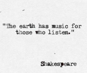 musik, shakespeare, and quote image