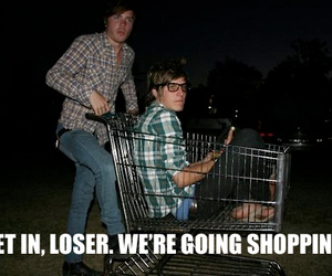 the maine, guy, and shopping image