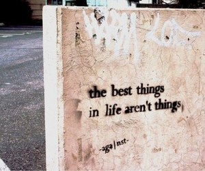 best things, quote, and wall image