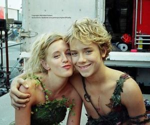 peter pan, tinkerbell, and jeremy sumpter image