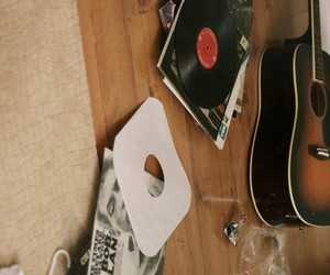guitar, bob dylan, and music image