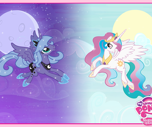 MLP, my little pony, and princess celestia image