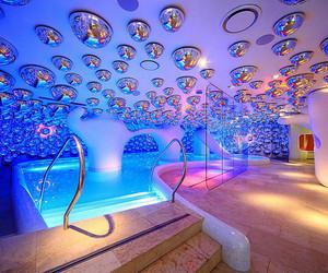 pool, luxury, and amazing image