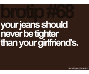 funny, jeans, and brotip image
