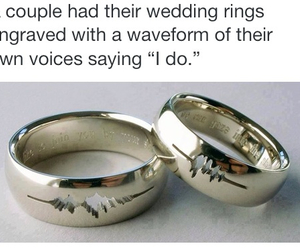 couple, ring, and husband image