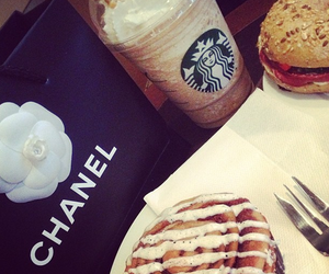 food, starbucks, and chanel image