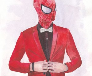 art, spider-man, and suit image