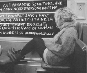 grunge, paranoid, and quote image