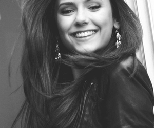 Nina Dobrev, smile, and the vampire diaries image