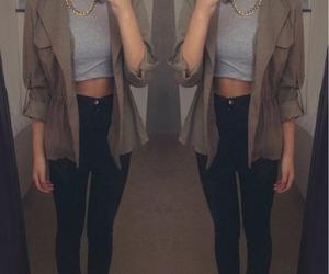 fashion, pretty, and cropped image