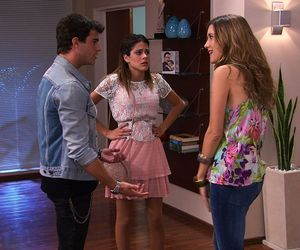 angie, violetta, and martina stoessel image