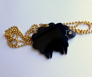 black sheep, jewelery, and necklace image
