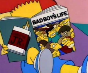 bart, simpsons, and boy image