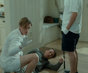 funny games, michael pitt, and Tim Roth image