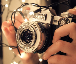 camera, light, and photography image