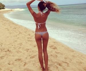 body, beach, and skinny image