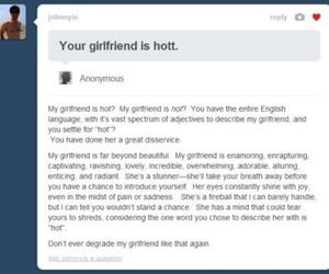 tumblr, girlfriend, and Hot image