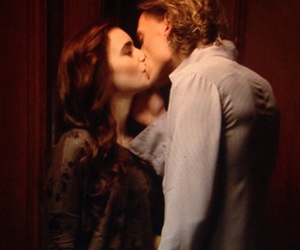 kiss, lily collins, and jace image