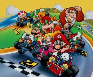 game and mario kart image