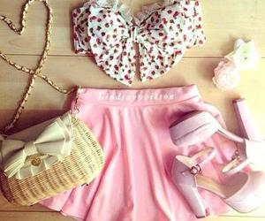 beauty, pink, and moda image