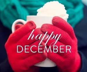 december, happy, and winter image