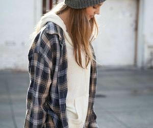 baggy, beanie, and fashion image
