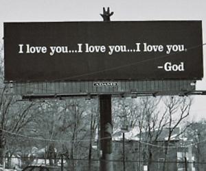 god, love, and I Love You image