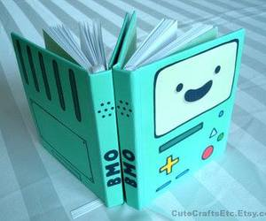 bmo, book, and adventure time image