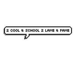 cool, fame, and school image