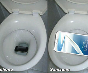funny, iphone, and samsung image