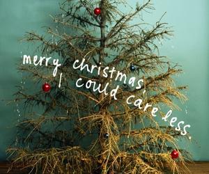 caption, christmas, and christmas tree image