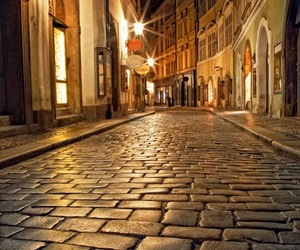 lanterns, alleys, and gold image