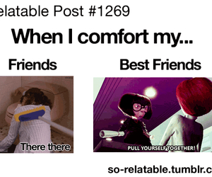 best friends, funny, and friends image