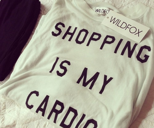 shopping, fashion, and cardio image