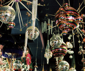 love pretty disco balls! image