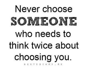 quote, someone, and choose image