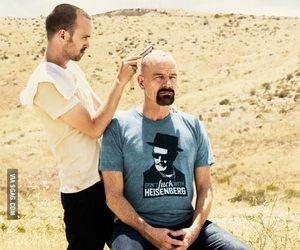 breaking bad, heisenberg, and aaron paul image
