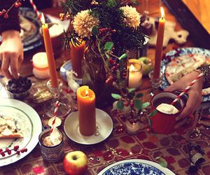 christmas, candles, and winter image
