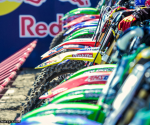 colorful, dirtbike, and motocross image