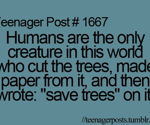 teenager post, humans, and tree image